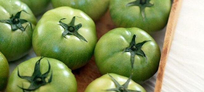 Лечим варикоз зелеными помидорами