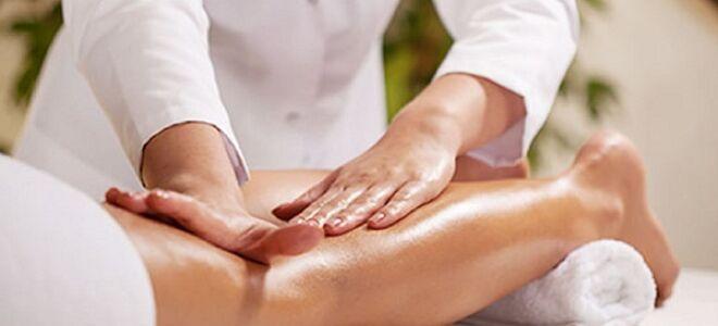 Массаж ног при варикозе. Что такое лимфодренаж