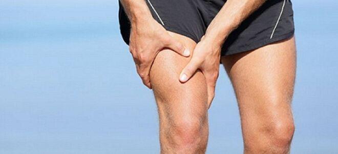 Инфаркт мышцы бедра