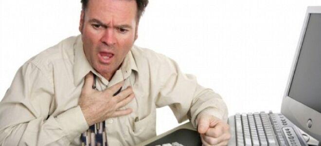 Причины возникновения инфаркта миокарда