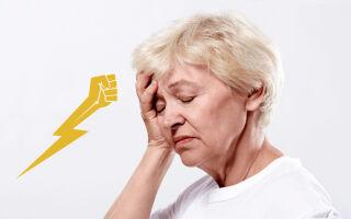 Признаки инсульта у женщины