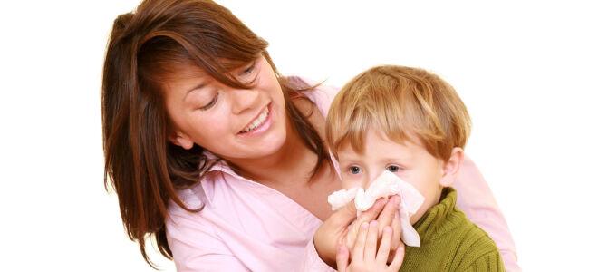 Почему у ребенка идет кровь из носа?