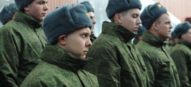 Берут ли в армию с анемией?