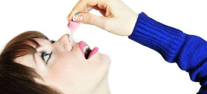 Капли в нос при инсульте