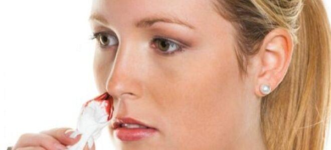 Кровь из носа по утрам