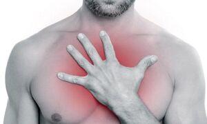 Почему давит в груди посередине и тяжело дышать?