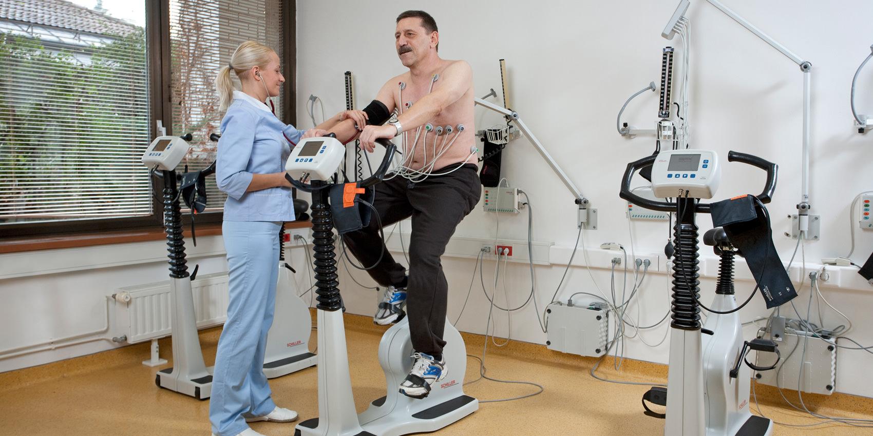 Реабилитация после обширного инфаркта