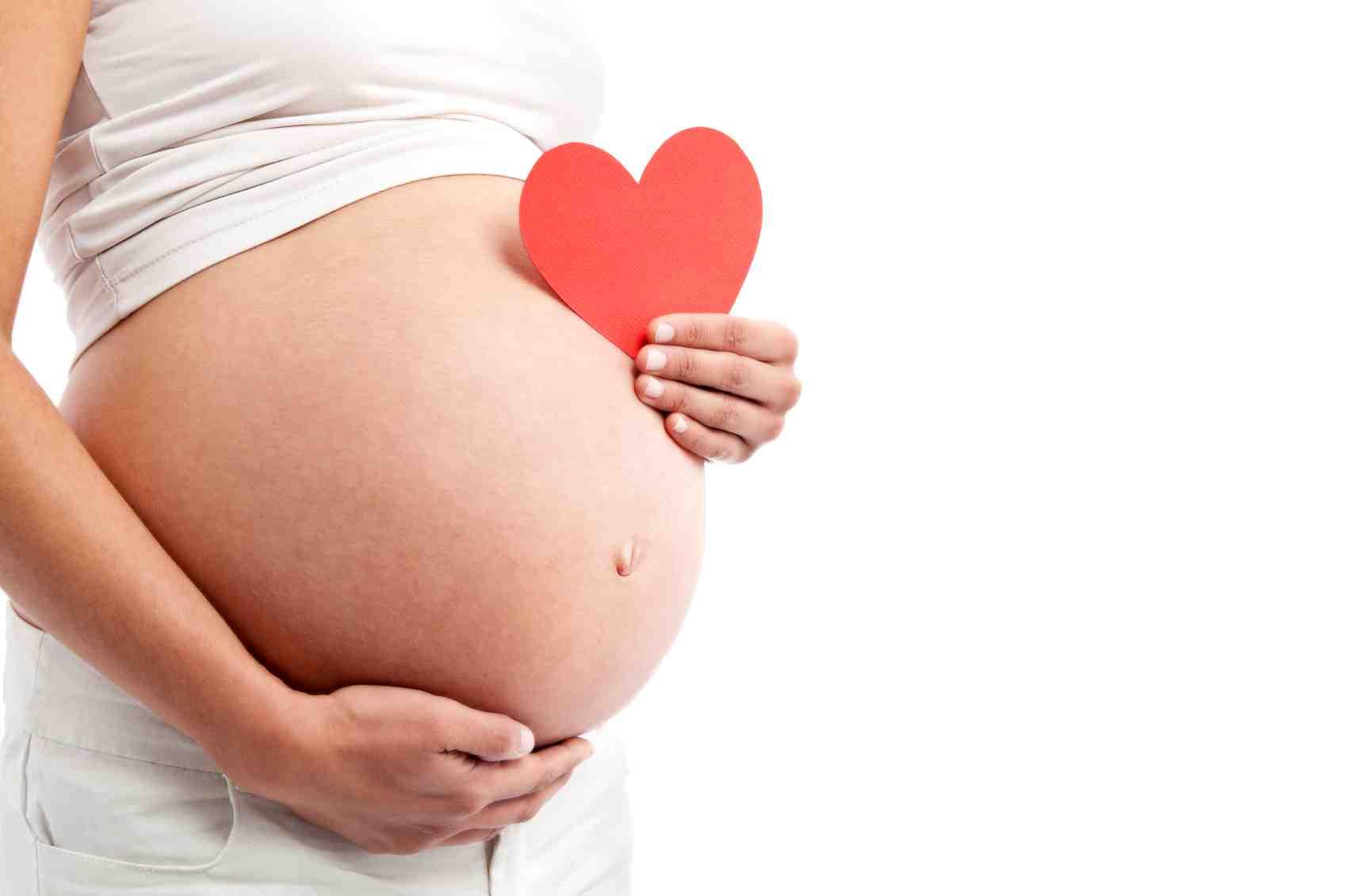 Беременная с заболеванием сердца