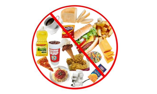 Отказ от жирной пищи перед обследованием