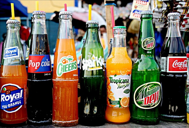 Исключить газированные напитки