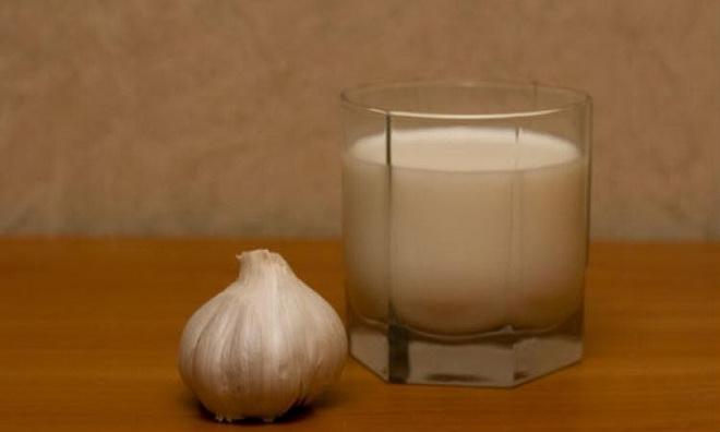 Чеснок и молоко