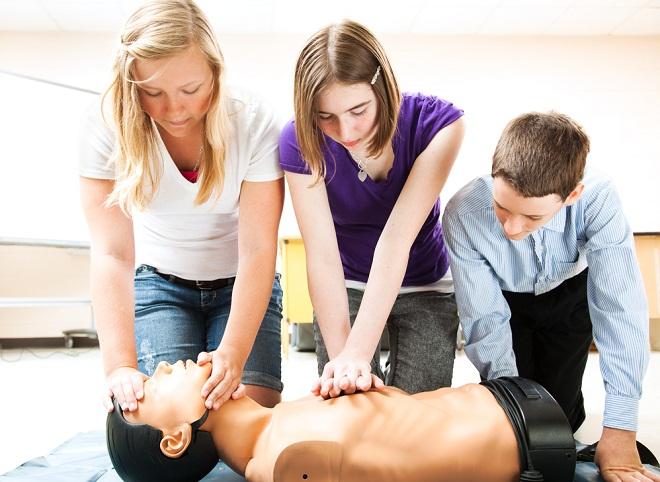 оказание первой медицинской помощи при инфаркте