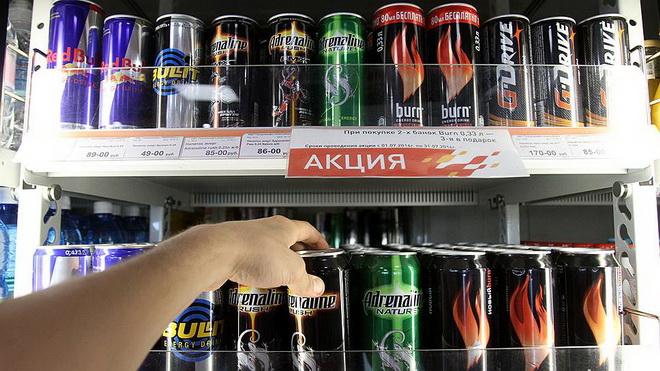 Злоупотребление энергетическими напитками