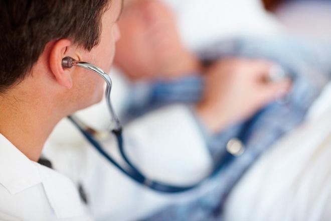 Прослушивание больного