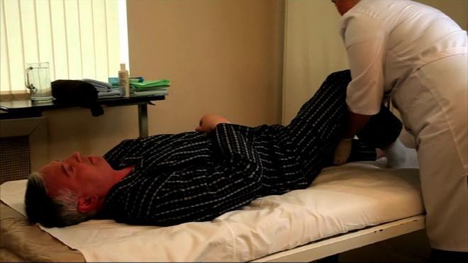 Гимнастика для лежачего больного