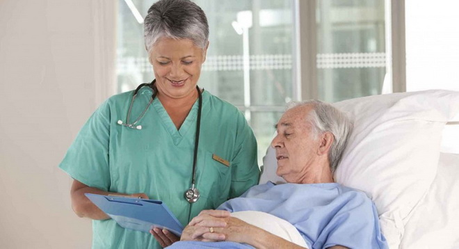Опрос медсестрой