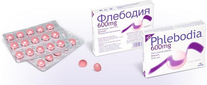 Лекарственный препарат Флебоида 600
