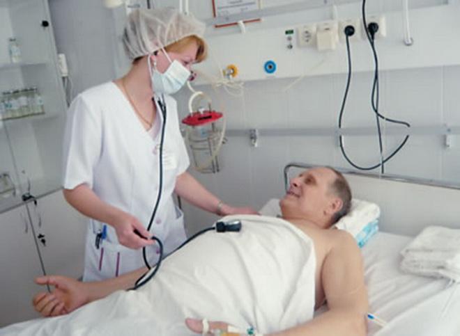 Оказание помощи больному