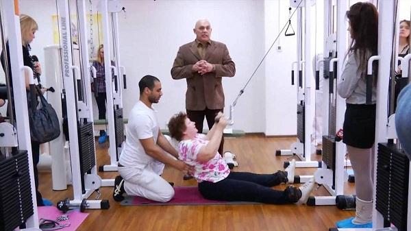 Упражнения после инсульта по методике бубновского
