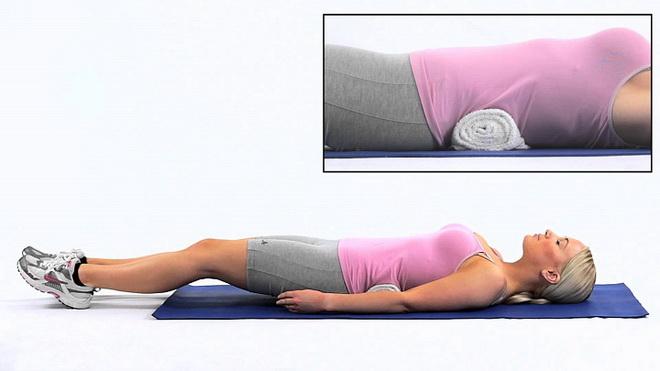 Лечебная гимнастика лежа