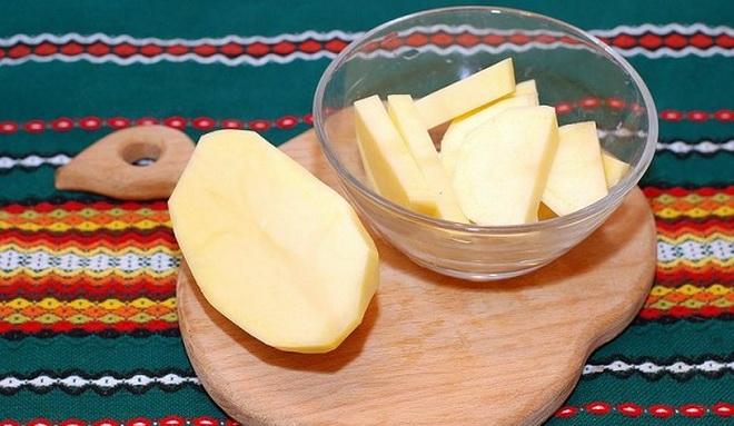 Свечи из свежего картофеля