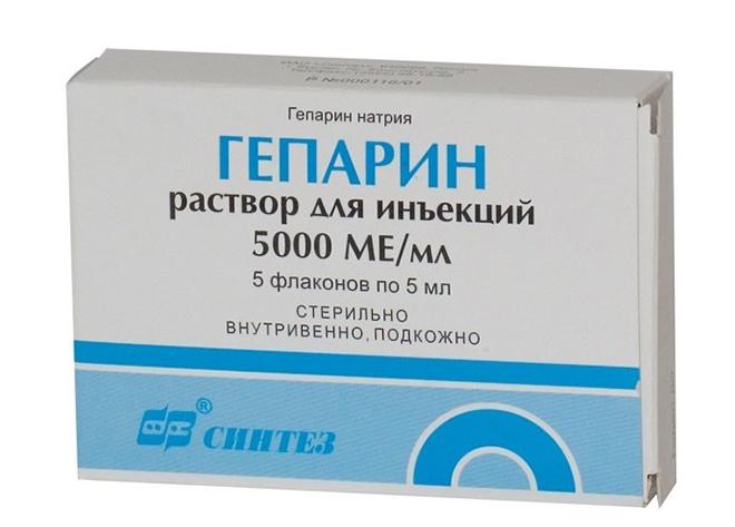 Гепарин при венозной недостаточности
