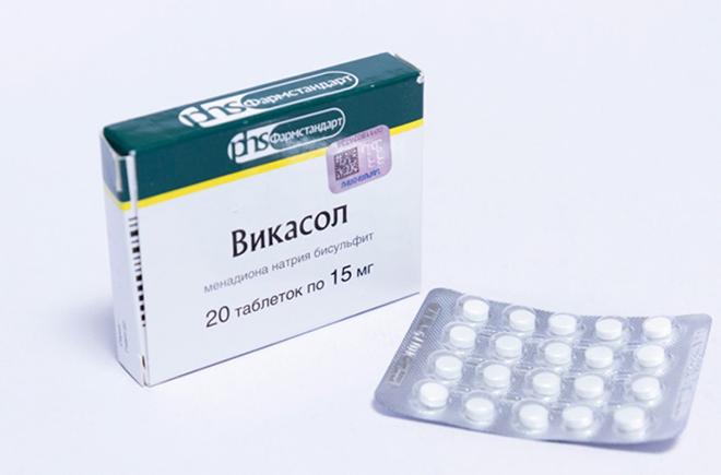Медикаментозные препараты при кровотечении