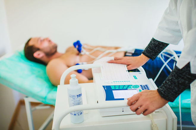 Диагностика ангинозного инфаркта миокарда