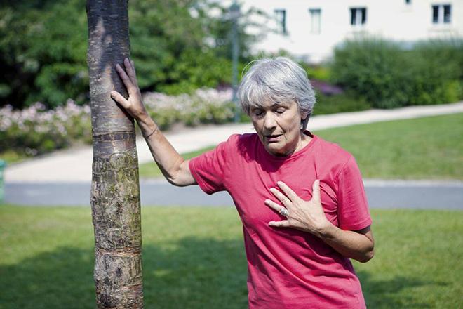 Сиптоматика легочного сердца