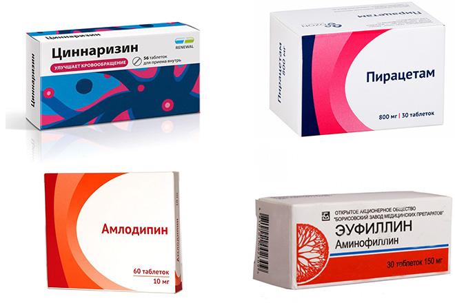 Медикаментозная терапия при лечении энцефалопатии