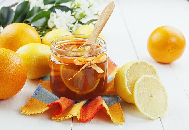 Состав на основе меда и лимонного сока от атеросклероза