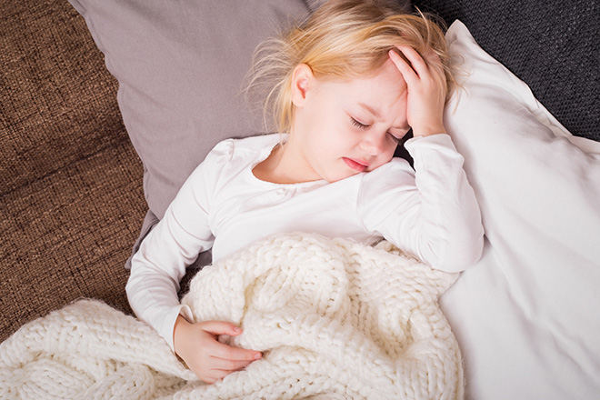 Клиническая картина дефицита железа у детей